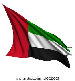 United Arab Emirates flag - collection no_4
