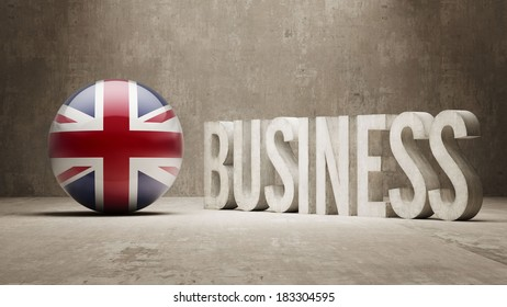 United Kingdom Business Concept