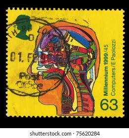 UNITED KINGDOM - CIRCA 1999: A stamp printed in United Kingdom shows Millennium 1999/45, circa 1999