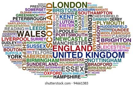 united kingdom cities