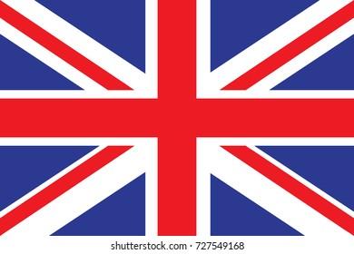 United Kingdom Flag illustration. United Kingdom Flag. National Flag of United Kingdom.