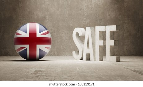United Kingdom High Resolution Safe Concept