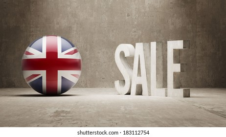 United Kingdom High Resolution Sale Concept