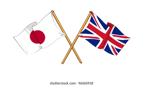 United Kingdom and Japan alliance and friendship