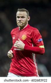 UNITED KINGDOM, MANCHESTER - November 24th 2016:  Wayne Rooney during the UEFA Europa League match Manchester United - Feyenoord