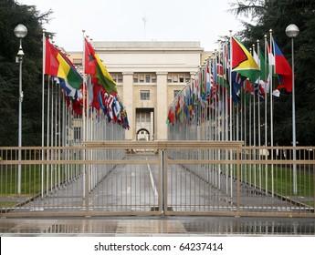 united nations building, Geneva, Switzerland