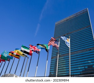 United Nations headquarters in New York City, USA