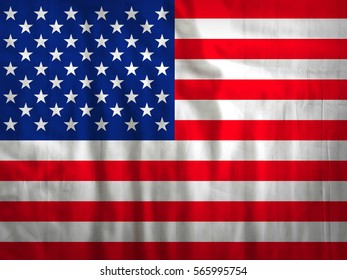 United states of America flag fabric texture textile background