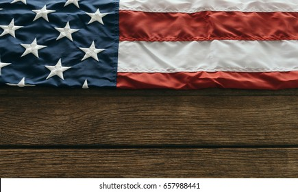 United States of America flag. Image of the usa flag  Memorial Day or 4th of July.