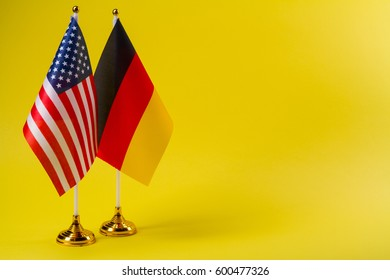United States of America and Germany flag