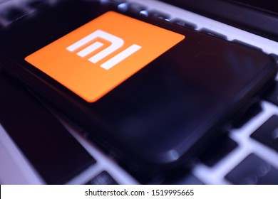 United States, California October 2, 2019. Smart phone with the Xiaomi logo that is a Chinese company dedicated to the design, development and sale of smartphones, apps and other electronic products