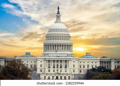 United States Capital Building in Washington DC