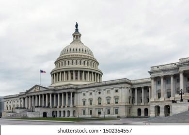 Die Kapitol-Gebäude der Vereinigten Staaten Ostfassade.