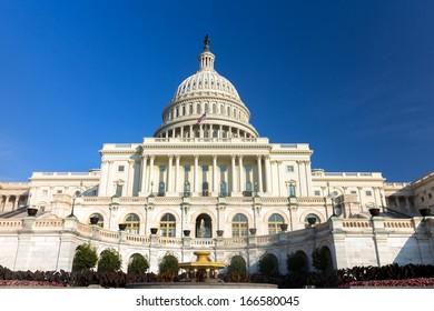 The United States Capitol building, Washington DC.