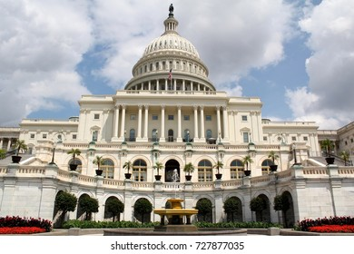 The United States Capitol, called the Capitol Building, is the home of the United States Congress, and the seat of the legislative branch of the U.S. federal government, Washington DC, August 4, 2017
