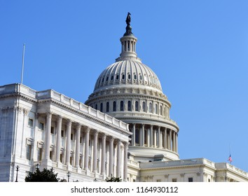 United States Capitol in the Summer