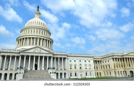 The United States Capitol in Washington D. C.