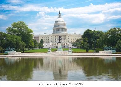 United States Capitol in Washington D. C.