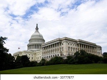 The United States Capitol, in Washington DC.