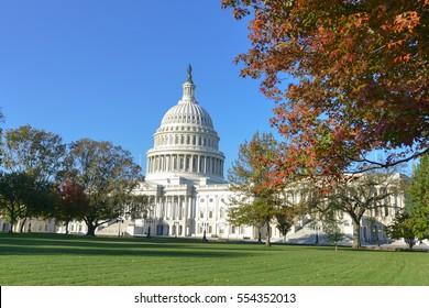 United States Capitol in Washington DC USA