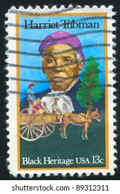 UNITED STATES - CIRCA 1978: stamp printed by United States, shows Harriet Tubman, circa 1978