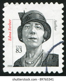 UNITED STATES - CIRCA 2003: stamp printed by United states, shows Edna Ferber, Writer, circa 2003