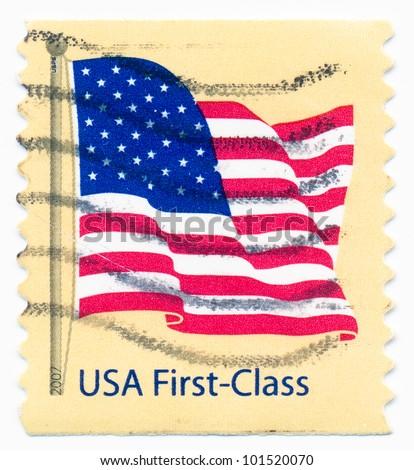 UNITED STATES CIRCA 2007 Postage Stamp Stock Photo Edit Now
