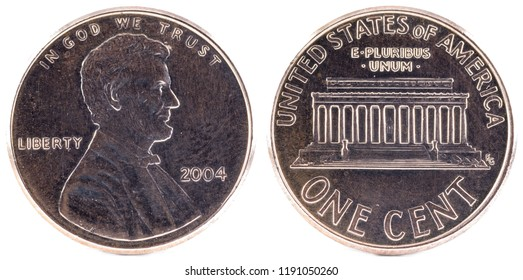 United States Coin. One Cent 2004.