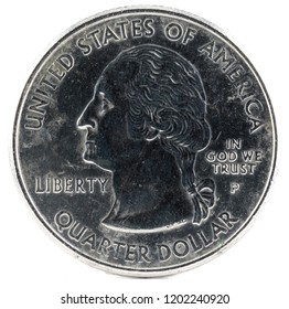 United States Coin. Quarter Dollar 2000 P. Obverse.