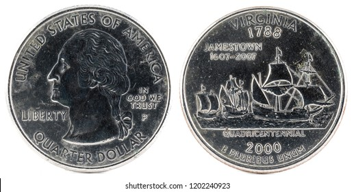 United States Coin. Quarter Dollar 2000 P.