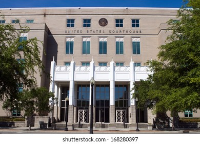 The United States Courthouse located in Pensacola, Florida, USA.