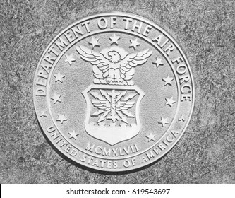 United States Department of the Air Force stone seal