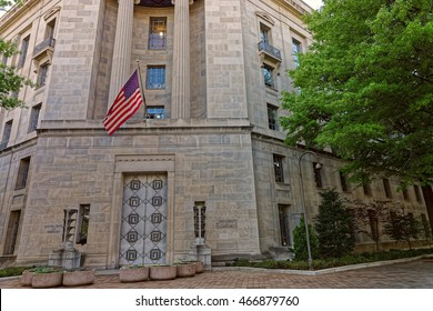 United States Department of Justice is located in Washington D.C., USA. It was formed on July 1, 1870. The Department of Justice is headed by the United States Attorney General.