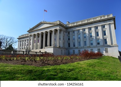 United States Department of The Treasury Building, Washington DC