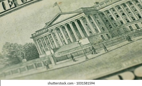 United States Department of the Treasury on United States ten dollar bill