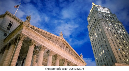United States District Court building located in New York City.