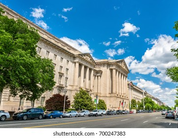 United States Environmental Protection Agency building in Washington, DC. United States