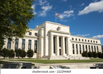 United States Federal Reserve Bank building in Washington D.C.
