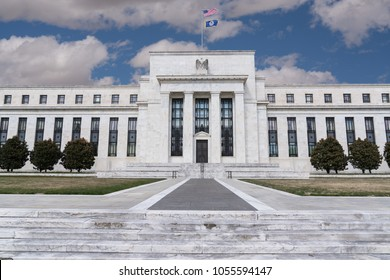United States Federal Reserve Building in Washington DC