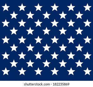 United States flag stars design