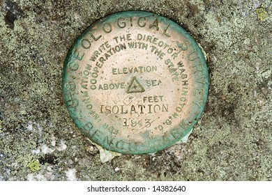 The United States Geographical Survey (USGS) has placed benchmarks on many significant landmarks throughout the United States