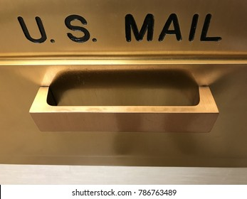 United States Mailbox Drop Handle