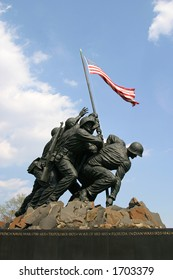 United States Marine Corp war memorial