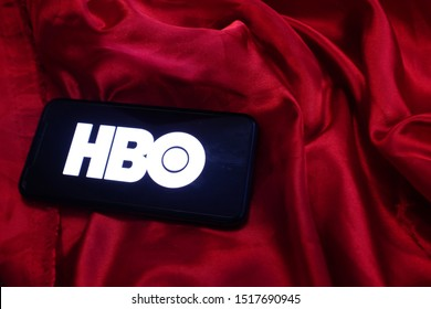 United States New york, Sunday, September 29, 2019. Iphone 11 pro with the HBO logo. HBO is an American subscription television channel.