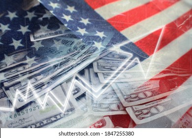 United States Stock Market/Economy Booming Through Strong Job Growth & GDP Data Statistics