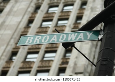 United States. Street sign, road sign on the pole.