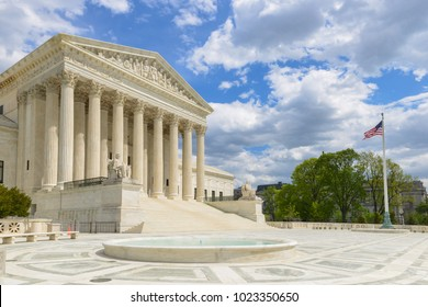 United States Supreme Court Building in Washington DC