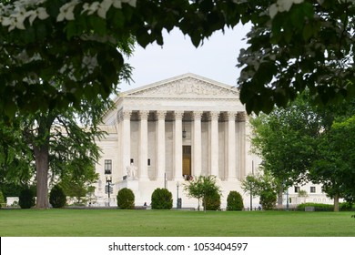 United States Supreme Court Building - Washington DC USA