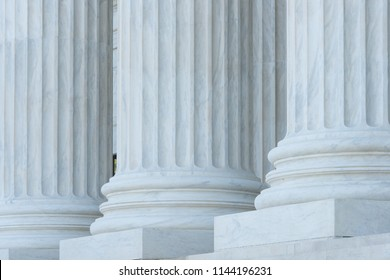 United States Supreme Court building details - Washington D.C. United States of America