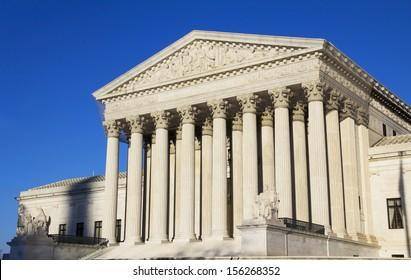 The United States Supreme Court building, Washington, DC